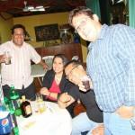 Tonchi, Susan, Ahmed y Chavón
