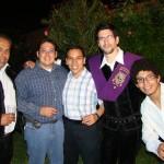 Wally, Chavón, Apu, Supermán y Abelardo